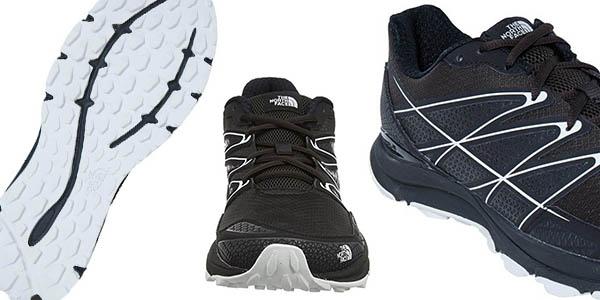 zapatillas The North Face Litewave Endurance negro flexibles relación calidad-precio genial