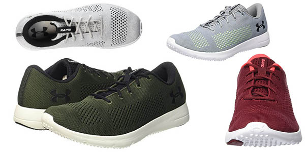 zapatillas transpirables Under Armour Rapid chollo