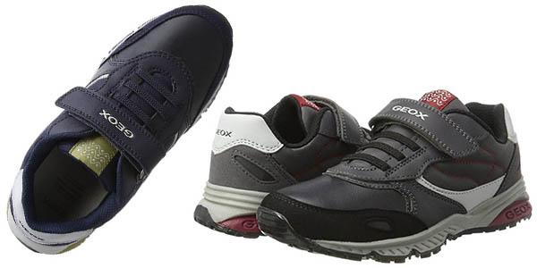 zapatillas con velcro para niñ@s Geox J Bernie A genial relación calidad-precio