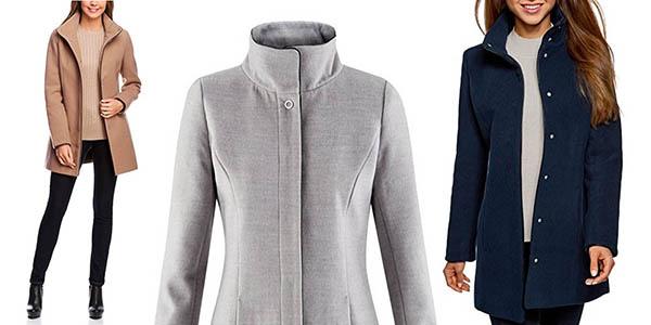 abrigo casual para mujer Oodji relación calidad-precio brutal