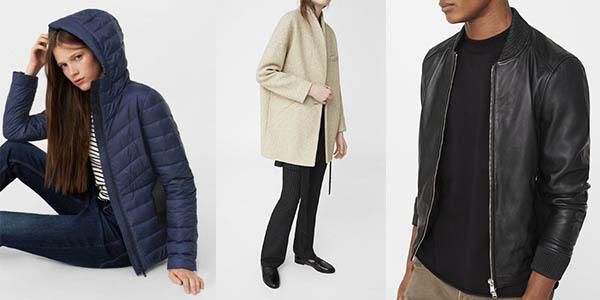 abrigos para mujer y hombre diseño casual a precio brutal Mango Outlet