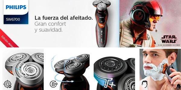 Afeitadora Philips Star Wars SW6700/14 al mejor precio en Amazon