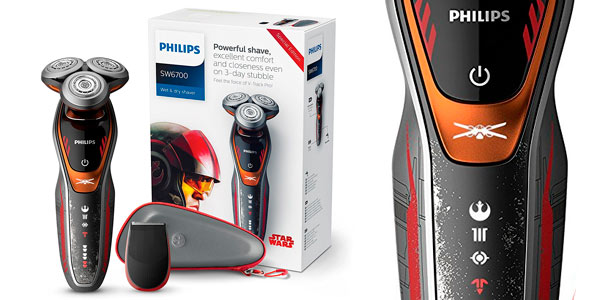 Afeitadora Philips Star Wars SW6700/14 barata en Amazon