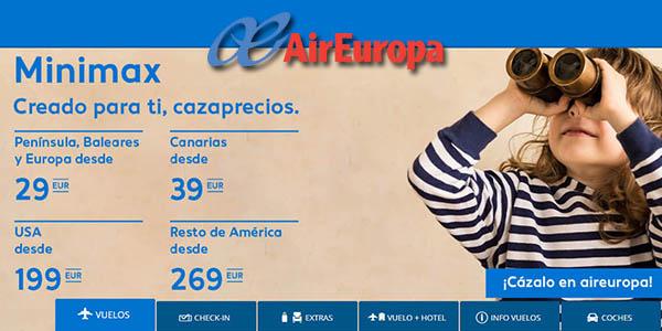 Air Europa rebajas enero 2019