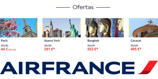 Air France rebajas enero 2019