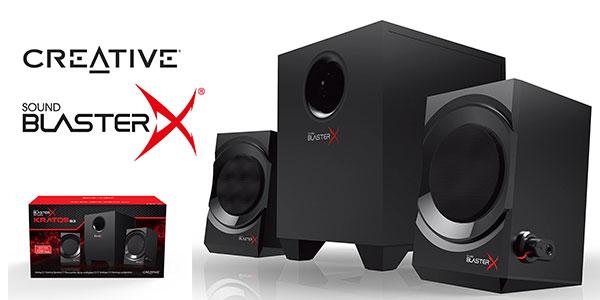 Altavoces Creative Sound BlasterX Kratos S3 baratos