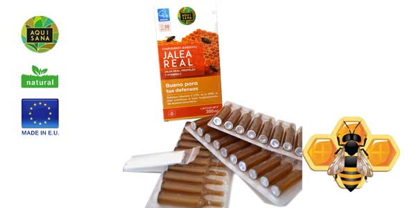 Jalea real con propóleo AQUISANA chollo en Amazon