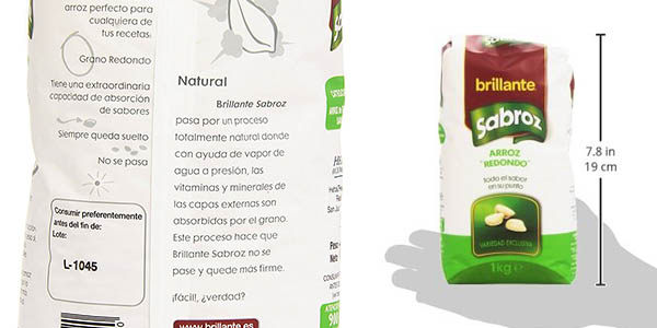 arroz Brillante Sabroz oferta supermercado Amazon