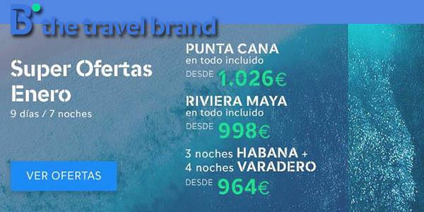 B The Travel Brand rebajas enero 2019