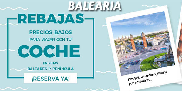 Baleària rebajas enero cruceros 2019