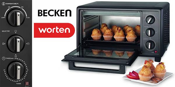 Becken BM01106B minihorno con grill barato