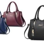 Bolso bandolera Bestou tipo tote bag en 3 colores barato en Amazon moda