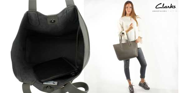 Bolso Shopper Clarks Madelina Lily chollazo en Amazon Moda