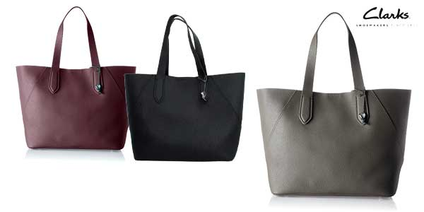Bolso Shopper Clarks Madelina Lily barato en Amazon Moda