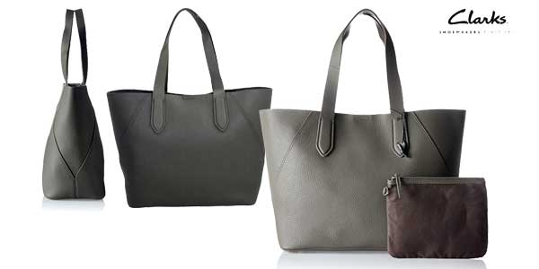 Bolso Shopper Clarks Madelina Lily chollo en Amazon Moda