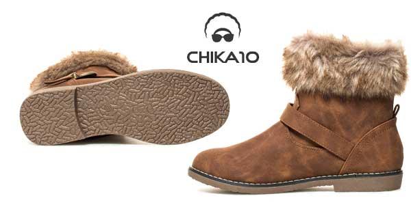 Botines de invierno Chika10 Cora para mujer chollazo en eBay