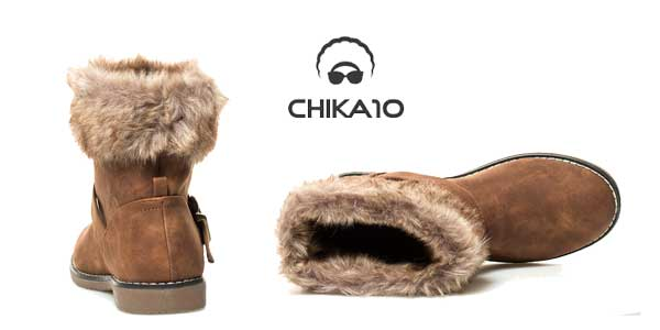 Botines de invierno Chika10 Cora para mujer chollo en eBay