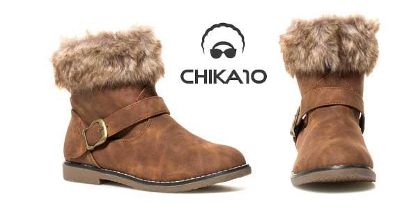 Botines de invierno Chika10 Cora para mujer baratos en eBay España