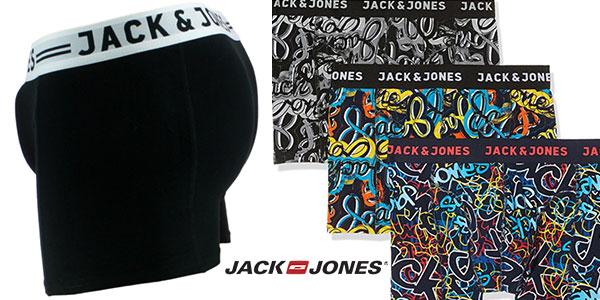 Pack de 7 calzoncillos bóxer Jack & Jones en oferta
