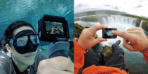 GoPro Hero6 Black 4K y sumergible