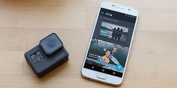 Cámara deportiva GoPro Hero6 Black barata