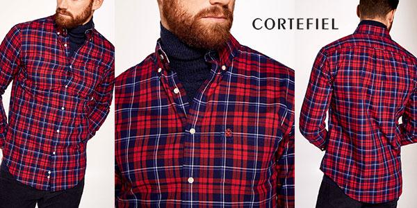 Camisa Cortefiel7322739 de algodón para hombre