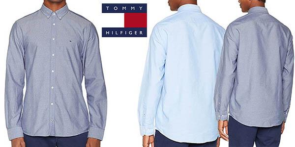 camisa de vestir Tommy Hilfiger para hombre chollo