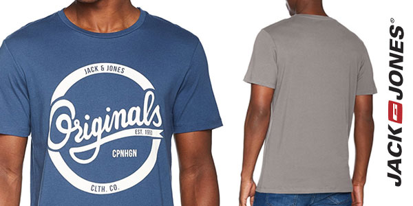 Camiseta Jack & Jones Jorswell manga corta de algodón para hombre al mejor precio