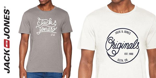 Camiseta de manga corta Jack & Jones Jorswell para hombre barata