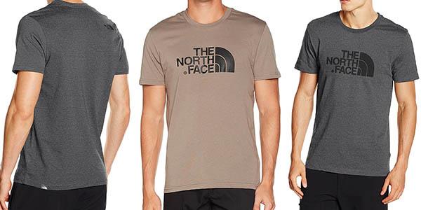 camiseta The North Face algodón diseño casual chollo