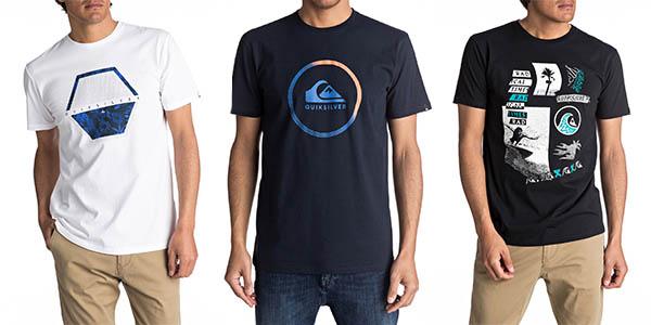 camisetas casuales de uso diario Quiksilver precio brutal
