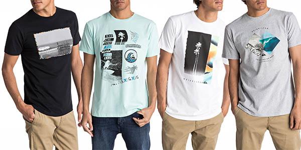 camisetas Quiksilver hombre baratas