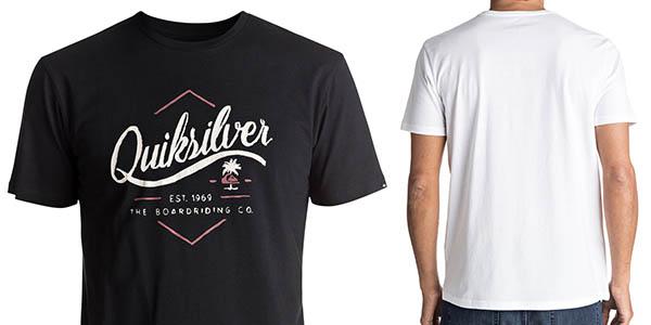 camiseta manga corta Quiksilver Classic Sea Tales oferta