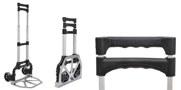 carretilla transporte 70 kg estable y resistente oferta