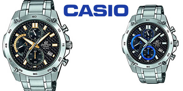 77096d657a76 Chollo Reloj Casio Edifice EFR-557CD en acero inoxidable por sólo 86 ...