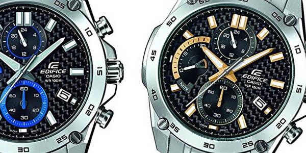 Casio Edifice EFR557CD reloj pulsera acero relación calidad-precio brutal