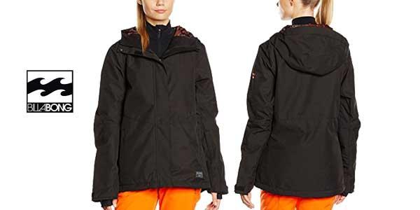 Chaqueta de esquí Billabong Akira Plain para mujer barata en Amazon Moda