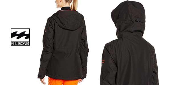 Esquí De Para Chollazo Chaqueta Billabong Akira En Color Plain Negro URn7pxZwWq
