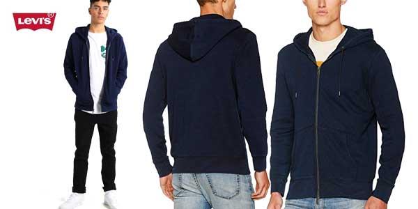 Chaqueta Levi's Original Zip Up Hoodie 2 barata en Amazon Moda