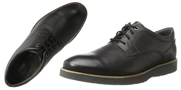 Clarks Folcroft Plain zapatos formales hombre chollo