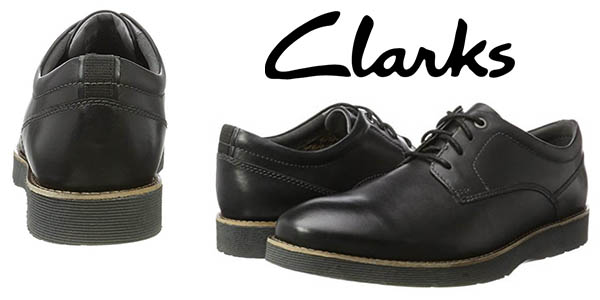 Clarks Folcroft Plain zapatos para hombre vestir baratos