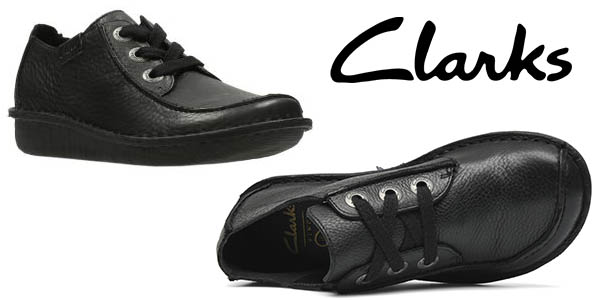 Clarks Funny Dream zapatos cuero mujer chollo
