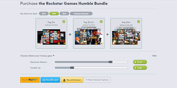 Comprar Rockstar Games Humble Bundle
