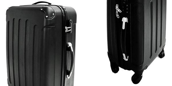 conjunto 3 trolleys plástico rígido relación calidad-precio brutal
