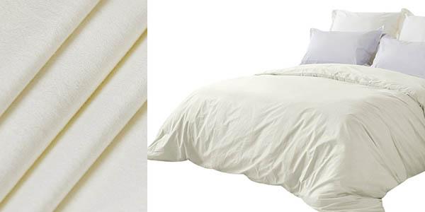 oferta conjunto ropa de cama Bedecor tacto suave resistente con sello de calidad