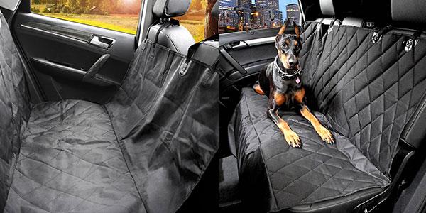 Cubierta protectora impermeable de asiento de coche de 147 x 137 cm para mascotas barata