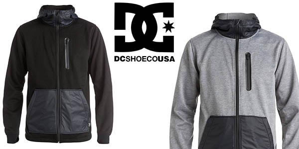 DC Shoes United Zip-Up chaqueta hombre casual chollo