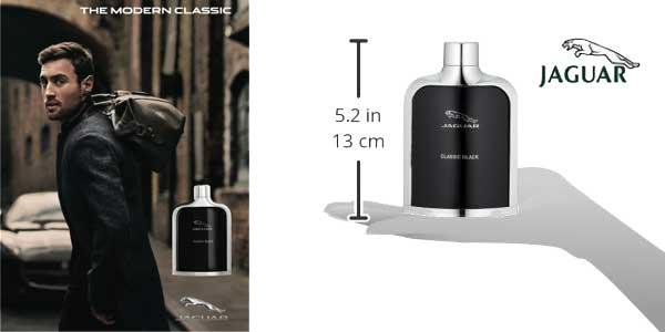 Eau de toilette Jaguar Black vaporizador de 100 ml chollo en Amazon Moda