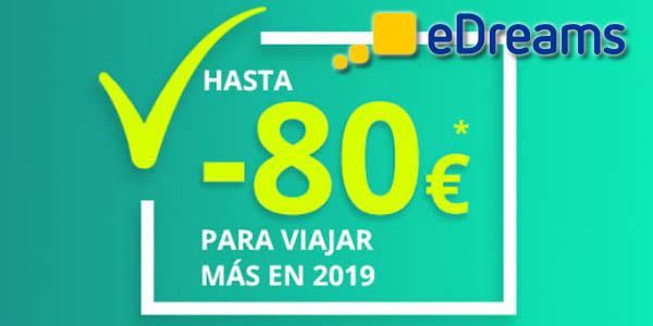 eDreams segundas rebajas enero 2019
