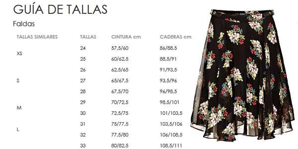 Falda corta Guess estampada de flores para mujer chollazo en Amazon Moda